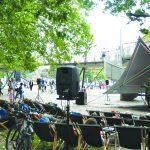 Concert jardinal pour transats vibrants