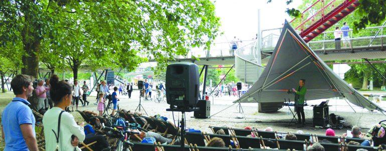 Concert jardinal <br/>pour transats vibrants