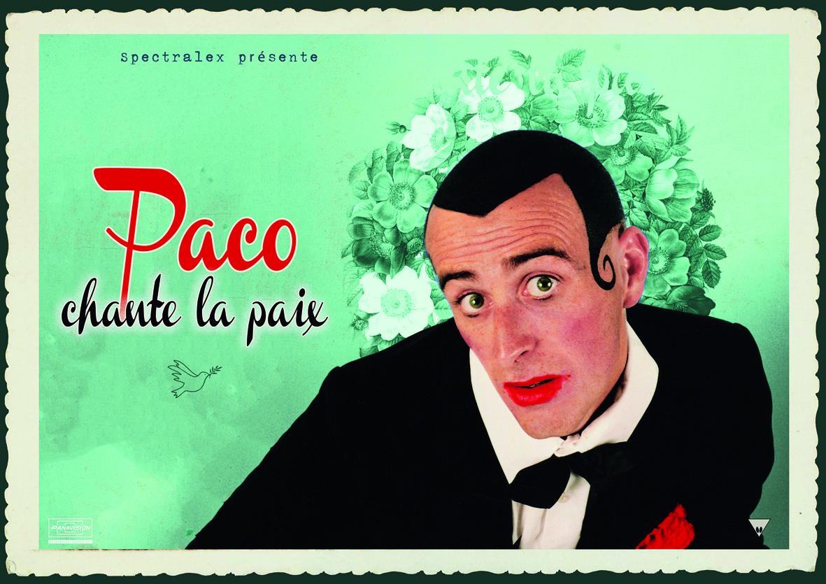 Paco chante la paix
