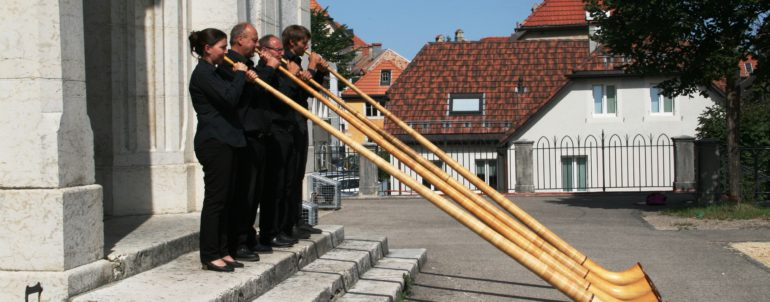 Quatuor de cor des Alpes